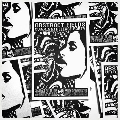 MIMA - ABSTRACT FIELDS // FIELD 001 RELEASE PARTY