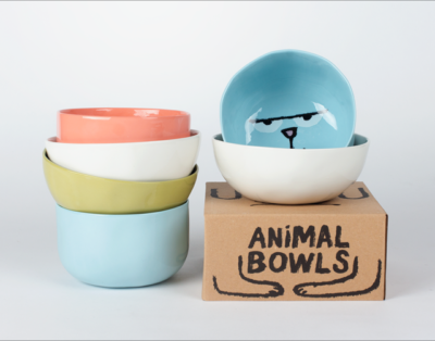 Just in: 'Animal Bowls' by Jean Jullien and Case Studyo