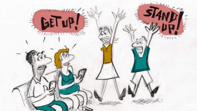 """Visite guidée Parents/Enfants de """"Get Up, Stand Up!"""" (FR)"""