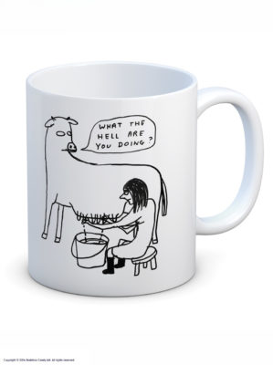 Just in: Mug by David Shrigley produced by Brainbox Candy.