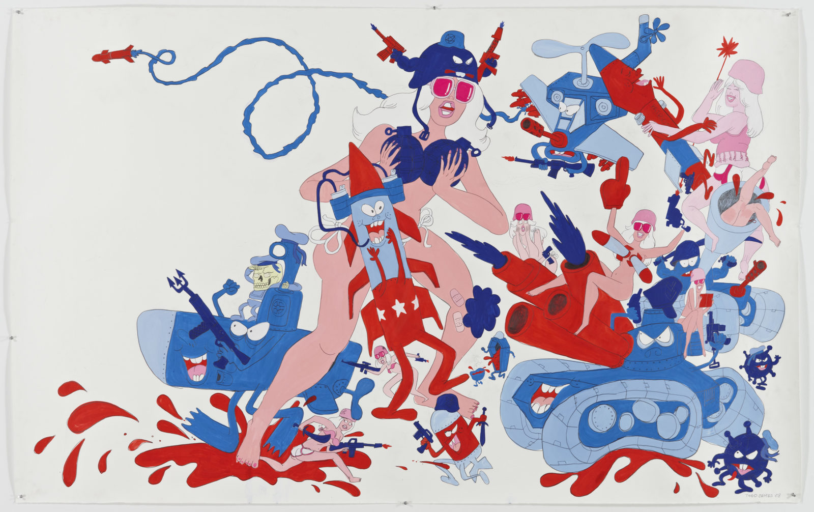 MIMA - TODD JAMES Red, Whit and Blue 2019