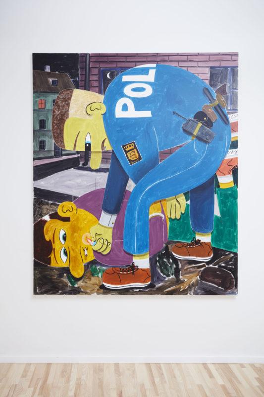 Mima - Policeman with Lighter